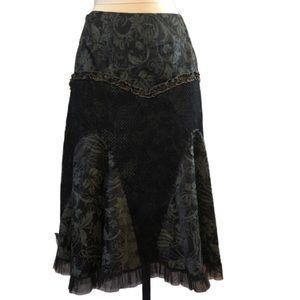 ALISON & SHERI gypsy-esque floral skirt